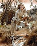 Barbara Bain (Space 1999) - Genuine Signed Autograph 10x8  11251